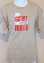 nike basketball sports gray xL T shirt like 2xl - $18.80