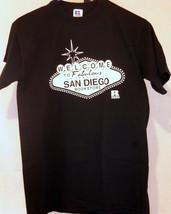 san diego university bookstore black small T shirt - $19.79