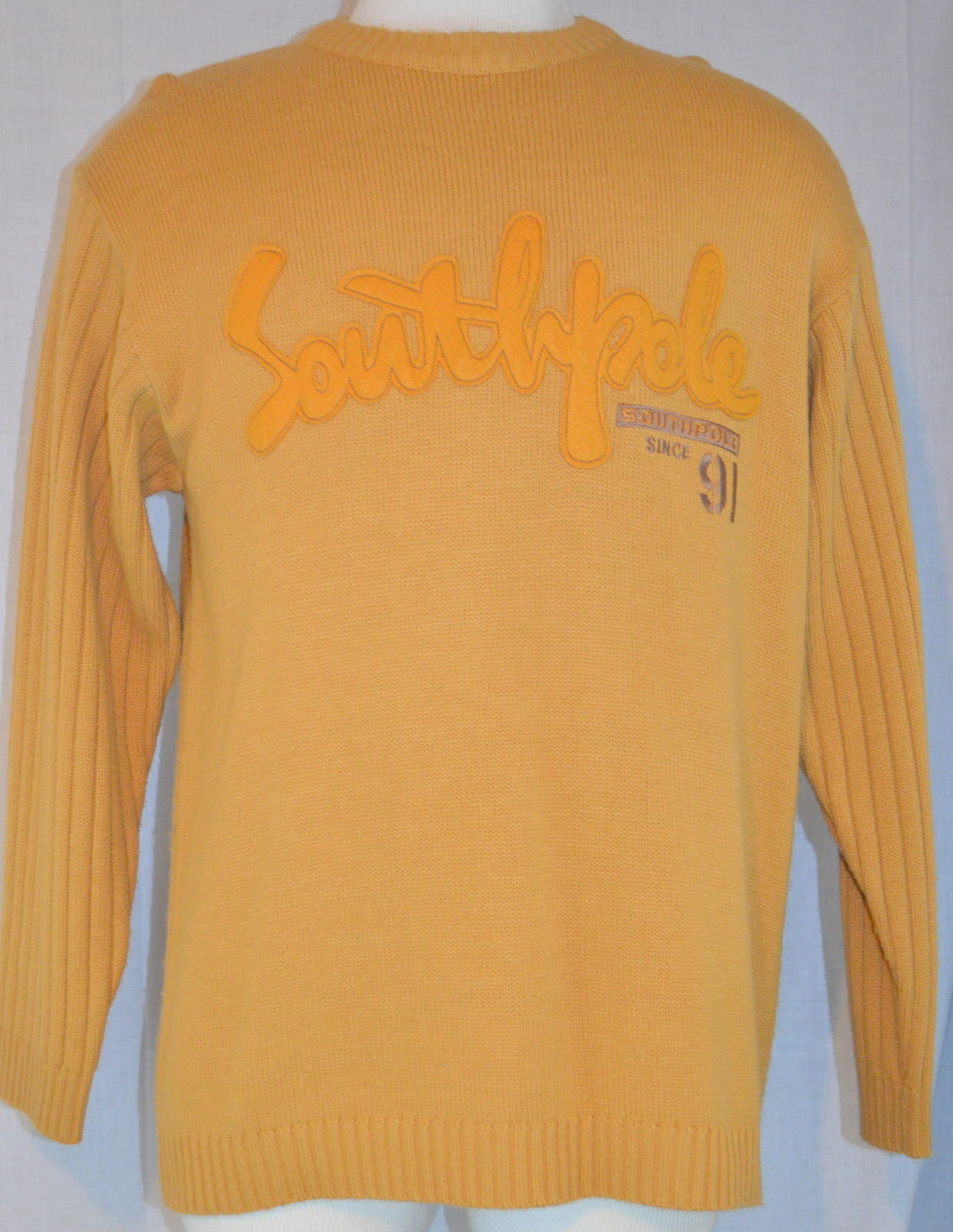 ff10efdc00 Southpole South Pole Orange Sweater Size L and similar items. S l1600