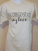 san diego state aztecs university college gray large L T shirt - $24.74