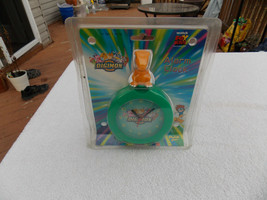 Vintage Digimon alarm clock Fox Kids Playfully Yours new in package 2000 - $15.83