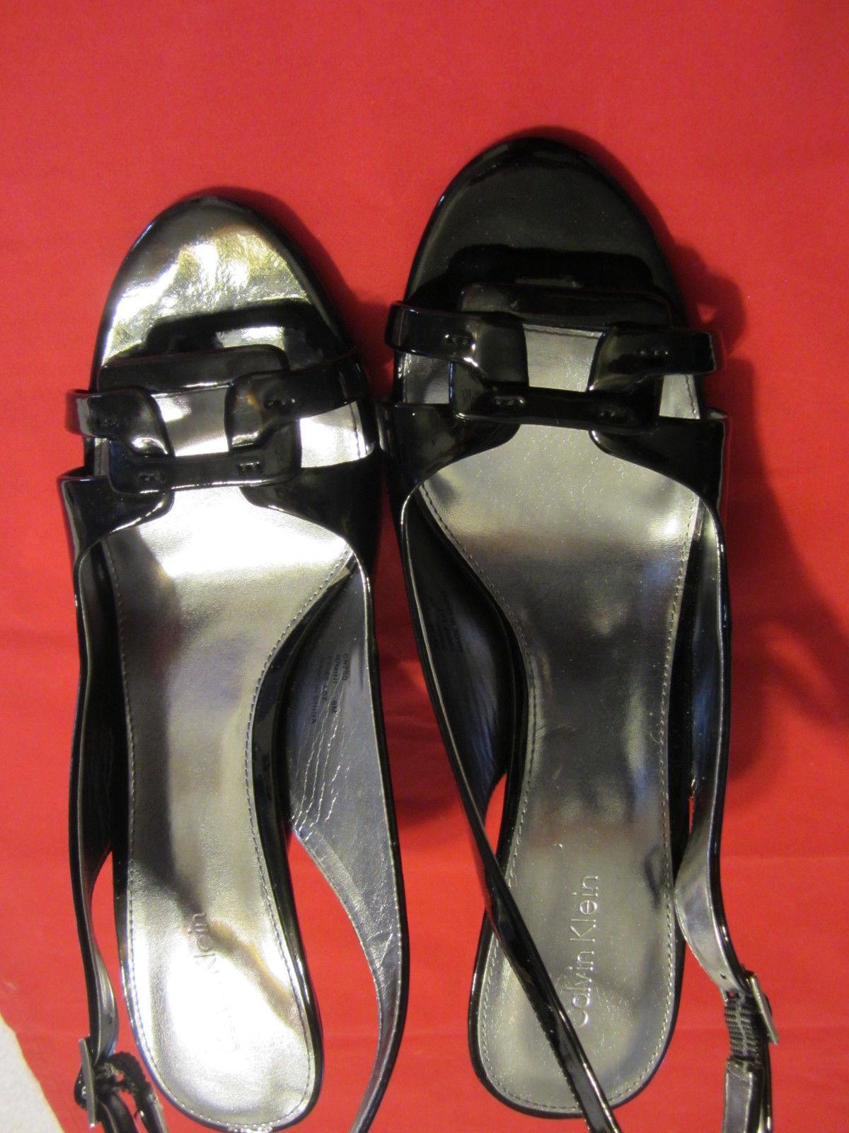 7dd54912db0 Women s Calvin Klein Black Sandals size sz 8 and 13 similar items. S l1600