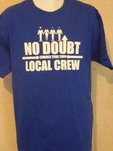 no doubt new wave ska band art blue xL extra large T shirt - $29.69