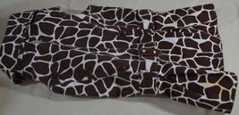 Zack & Zoey Dog Shirt Coat Giraffe Print Size M - $19.79