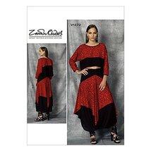 Vogue Patterns V1472 Misses' Top & Skirt - $8.99