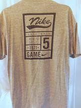 nike sports gray L large T shirt like xl - $19.79