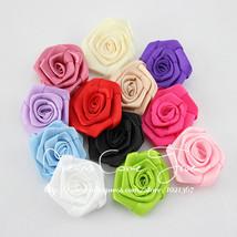 "50pcs/lot 1.8"" 12Colors Handmade Lovely Satin Ribbon Rolled - $30.95"