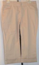 Bandolino Brown Capri Cropped Pants Size 10 - $45.53