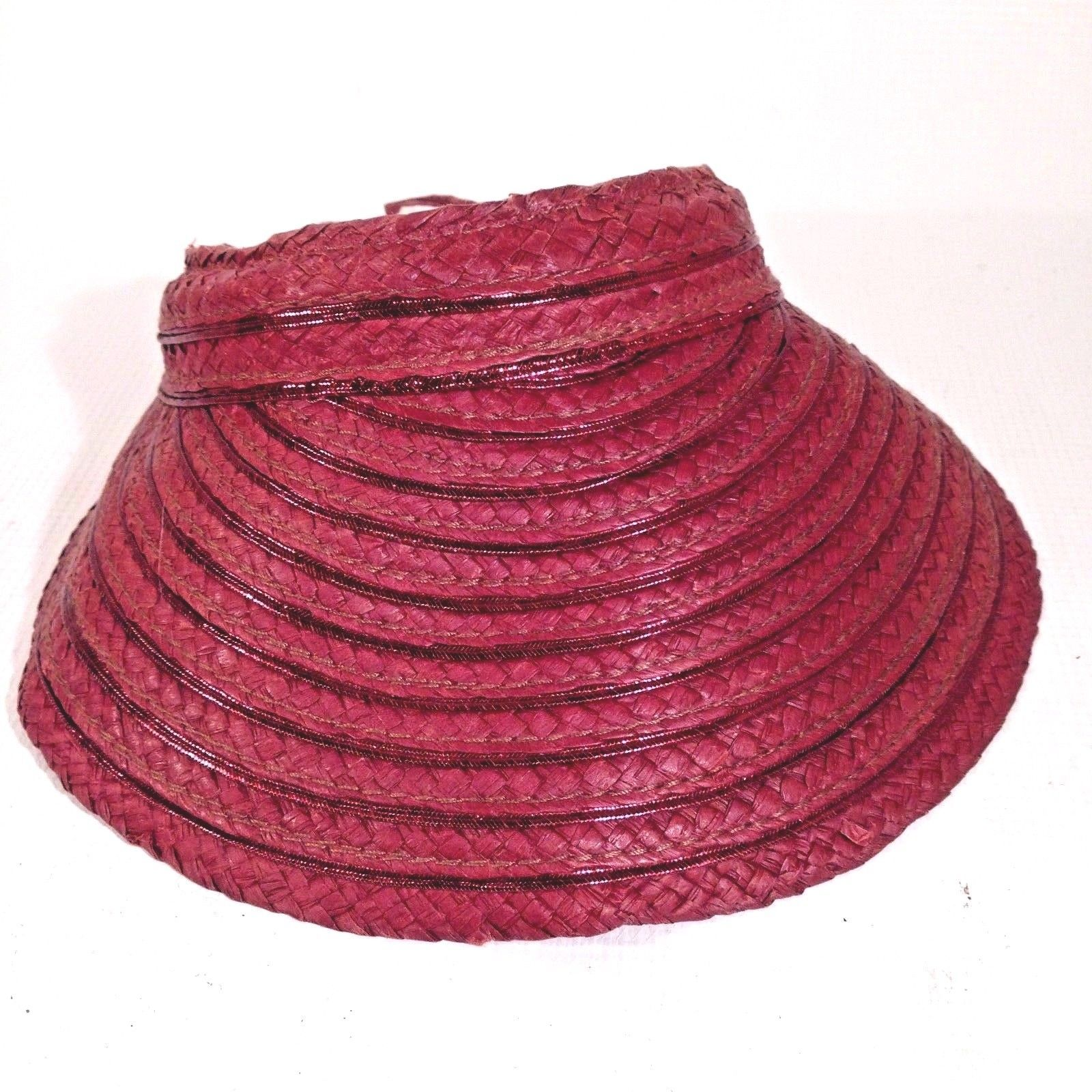 23d54cbb885 LIZ CLAIBORNE Wide Brim Sun Visor Beach Hat and 25 similar items. S l1600