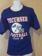 tecumseh football xl blue T shirt like 2xl - $19.79