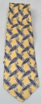 Men's Robert Talbott Paisley Black Gold Handsewn Silk Neck Tie - $29.69
