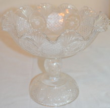 Clear Glass Footed Bowl - $45.53