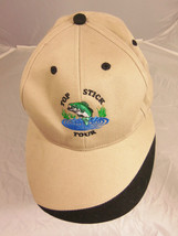 Men's Browns Top Stick Tour Fishing Base Ball Cap One size fits all - $15.83