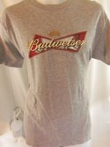 budweiser beer art gray m medium T shirt - $19.79