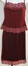 Papell Boutique Beaded Purple Evening Blouse Top Skirt Spaghetti Straps Size 6 - $69.29