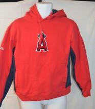 Angels Hoodie Red Sweatshirt Men's Women's Size xs extra small - $39.59