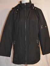Women's London Fog Black Jacket Size M - $39.59