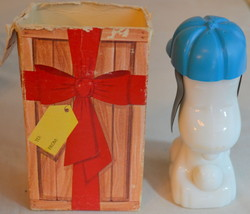 Vintage 1969 Avon Peanuts Snoopy Excalibur After Shave Bottle with Box - $19.79
