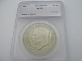 Eisenhower Dollar , Lot of 2 , Certified - $19.00