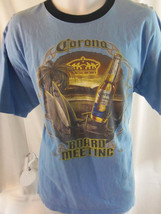 corona beer beach surf boards blue size extra Large xl T shirt - $19.79
