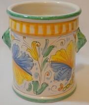 ND Dolfi for Cottura Utensil Jar Holder Pottery - $124.73