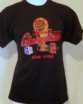 san diego state aztecs university basketball champions black medium T shirt - $19.79