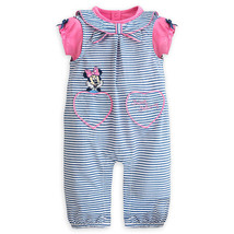 """Disney Store Minnie Mouse """"Sweet Sailing"""" Woven Romper Set for Baby - $33.00"""