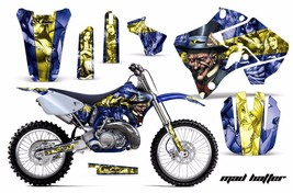Dirt Bike Graphic Kit Decal Sticker Wrap For Yamaha YZ125 YZ250 96-01 HATTER Y U - $169.95