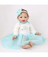 CHERAX Belly Reborn Baby Dolls Lifelike Soft Baby Gift ,22-inch Safety V... - $50.11