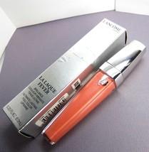 LANCOME Cyber Coral La Laque Fever Lasting Full Color Lip gloss NIB - $17.21