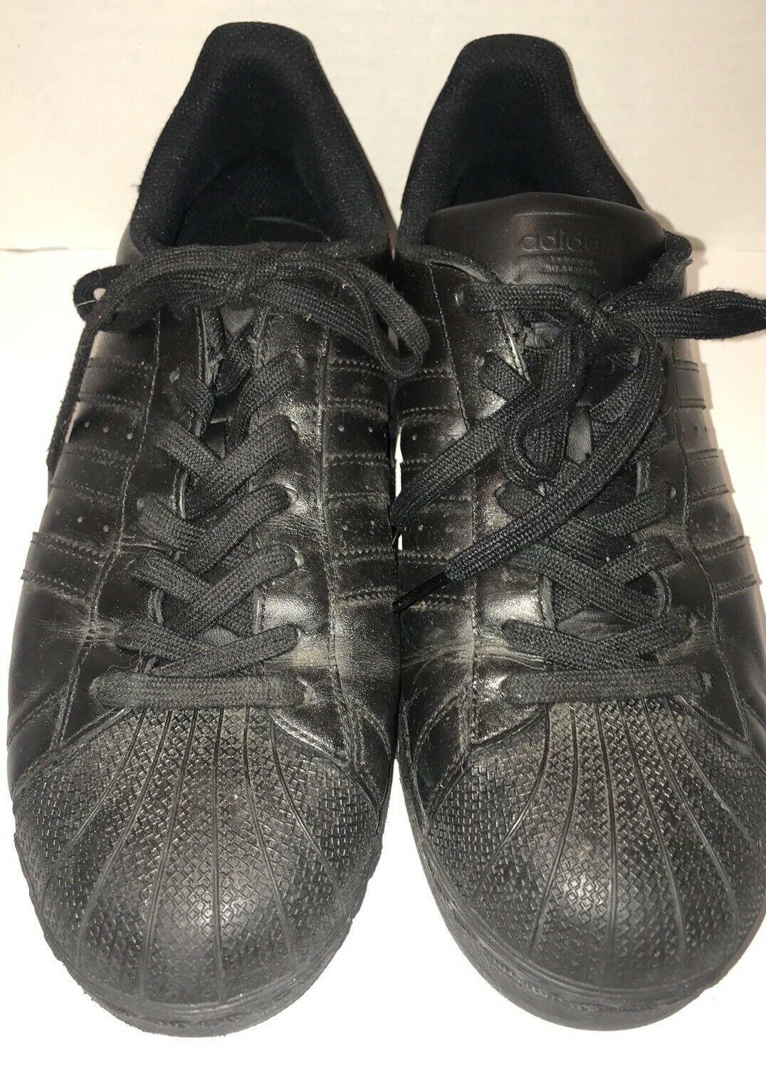 buy online 00f6d 85fd7 Adidas Superstar Shelltoe All Black 10.5 and 47 similar items. S l1600