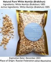 VERY STRONG White Shilajit 2.2lb (1 kgs), Pure Stone Oil, Brakshun,Mumie... - $856.18