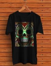 Skull Day of the Dead Black Men's T-shirt - $14.99+