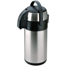 Olympia Pump Action Airpot 3Ltr Commercial Kitchen Restaurant Diner Cafe... - $59.19