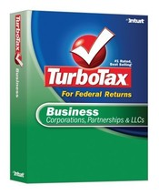 TurboTax Business 2007 [OLD VERSION] [CD-ROM] Windows XP / Windows Vista... - $89.07