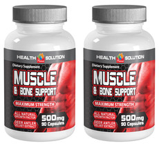 Muscle and Joint Healing 500mg (2 Bottles, 180 Capsules) - $51.38