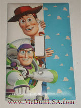Toy Story Woody Buzz Lightyear Light Switch Power Outlet Wall Cover Plate Decor image 1