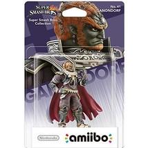 Ganondorf No.41 amiibo (for Nintendo Wii U/3DS)  - $212.00