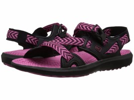 Keen Womens Maupin Black/Bery Berry Colorblock Sport Sandals Shoes 5 Med (B,M)  - $39.59