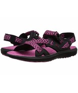 Keen Womens Maupin Black/Bery Berry Colorblock Sport Sandals Shoes 5 Med... - $39.59