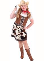 Girls  Cowgirl Costume - Cowprint  Trim  - $32.59