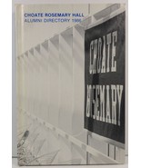 Choate Rosemary Hall Alumni Directory 1986 - $15.99