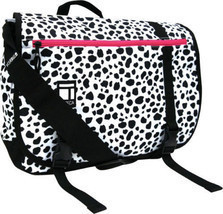 Tribeca Speedy Messenger Bag Dalmation - $15.47