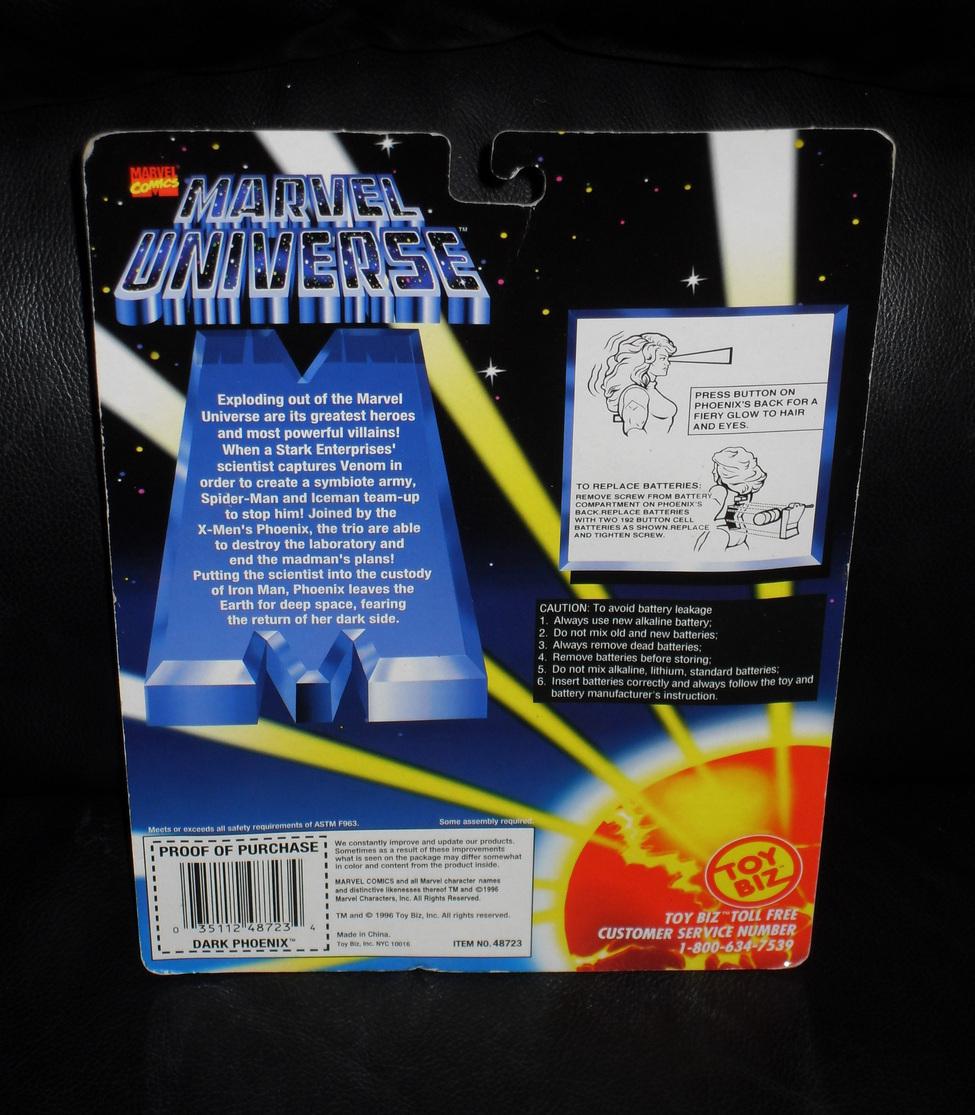 1996 Marvel Dark Phoenix Action Figure New In The Package