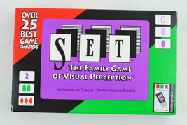 SET - The Family Game of Visual Perception - CARD GAME 100% COMPLETE - $8.99