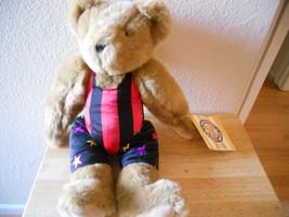 """VERMONT TEDDY BEAR PLUSH NWT IN LEOTARD CUTE  15.5""""  Tall - $27.76"""