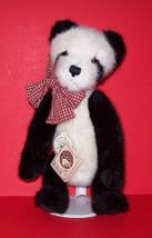 Domino Boyds Bears Plush Panda  #57004-07 - $18.00
