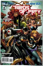 Birds of Prey 4 DC Comics 2012 Swierczynski Saiz New 52 - $3.00