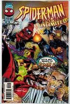 Spider-Man Unlimited 14 Marvel Comics 1996 Herdling Bennett - $2.00