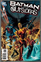 Batman and the Outsiders 1 DC Comics 2007 Dixon Lopez Bit - $4.00